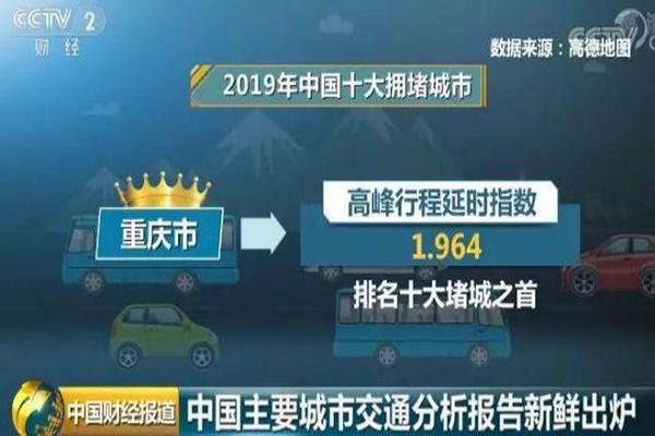 2019中国堵城排行榜出炉 来看看全国哪个城市最拥堵吧
