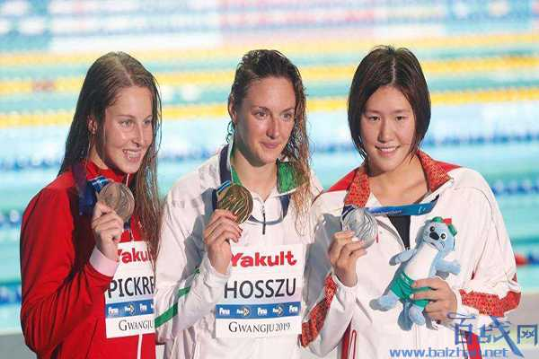 2019世锦赛叶诗文200米混合泳摘银 匈牙利名将霍苏夺金