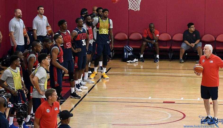 美国男篮15人名单,篮球世界杯,美国篮球世界杯阵容