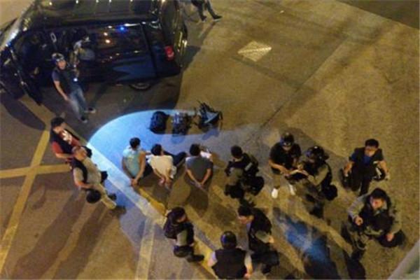 香港警方宣布拘捕九新界暴动者44人 港独极端分子引起动乱冲突不断升级