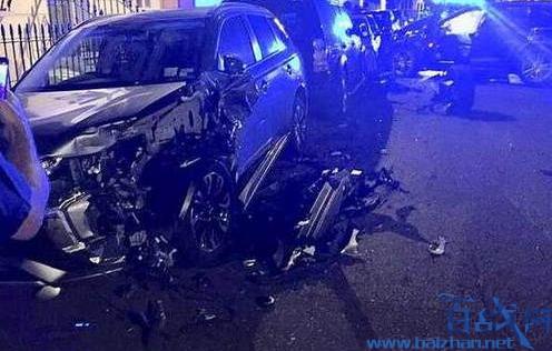 飙车连撞11辆豪车,飙车撞坏11辆豪车,飙车撞坏豪车