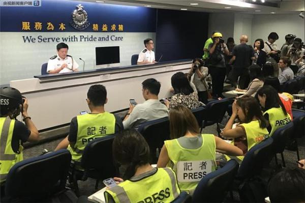 香港,香港警方,香港暴徒,港独分子,极端分子,香港8月5日暴动