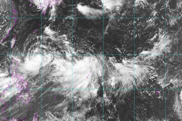 2019年第10号台风罗莎生成 会去日本还是会来中国呢?