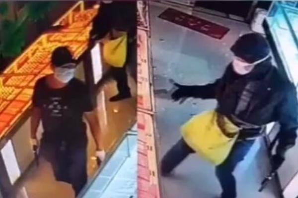 伊金霍洛旗抢金店案件通报:已成功告破,正进一步审理
