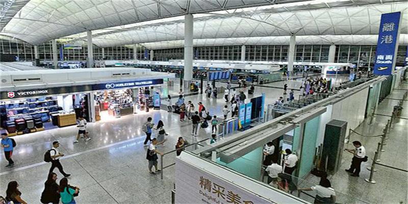 """港独极端分子在香港机场发动""""万人接机"""" 未向警方申请香港机场出入管制3天"""