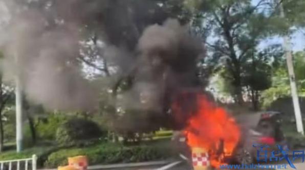 网约车爆燃一死一伤,南京网约车爆燃事故,网约车爆燃