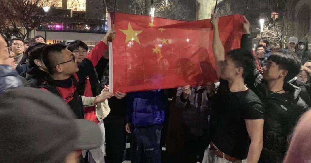 这才是中国青年!澳大利亚数千华人包围港独分子