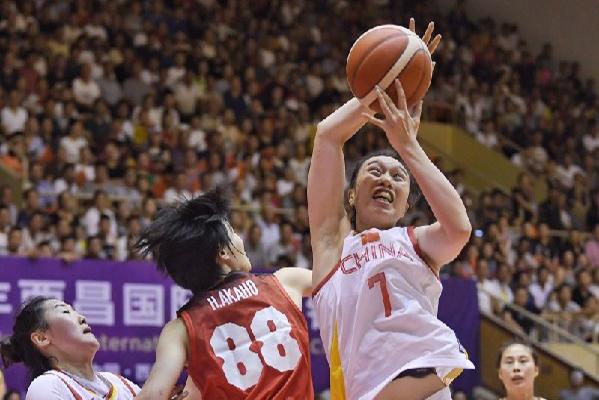 2019国际女篮锦标赛中国女篮夺冠 中国队以88:68大比分战胜希腊队