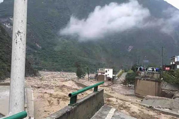 汶川泥石流最新消息今天 汶川泥石流已致2人失联3人被困