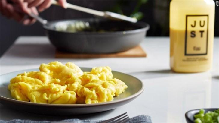 人造肉还没炒熟 美国就将开售人造鸡蛋