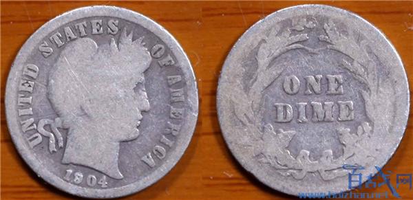 10美分硬币拍出930万,10美分硬币拍出132万美元,10美分硬币