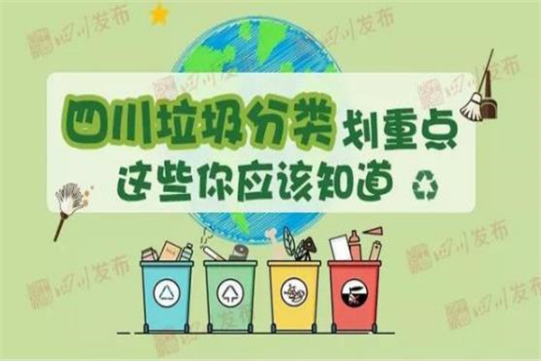 四川,四川垃圾分类,垃圾分类,垃圾分类立法,四川垃圾分类立法