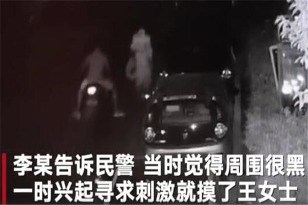 湖北一女子深夜回家遭男子摸臀 犯罪嫌疑人:一时兴起,想摸就摸了