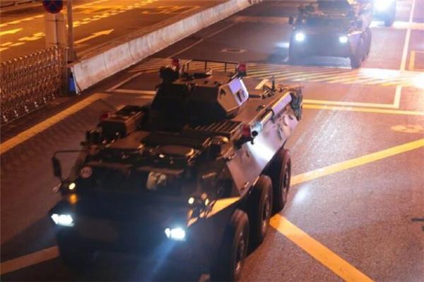 中国人民解放军驻香港部队轮换 1997年回归以来第22次轮换