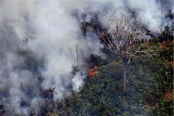 亚马逊雨林着火点超7万处 新火情仍然不断出现,火势无明显缓解