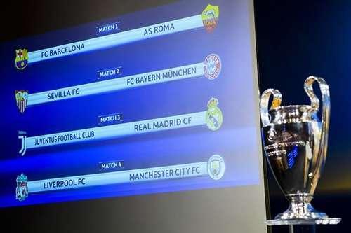 欧冠小组抽签揭晓,欧冠小组抽签,欧冠死亡之组
