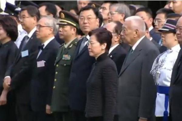 中国人民抗日战争胜利74周年 林郑月娥出席纪念仪式