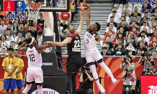 篮球世界杯16强出炉 美国队98-45日本队以53分差碾压完胜