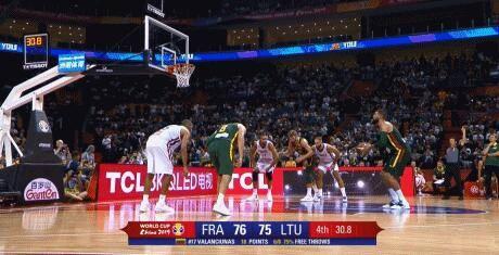 立陶宛对法国比赛FIBA承认误判 3位