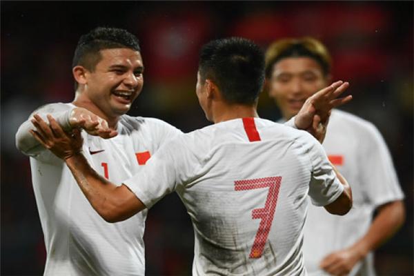 国足,国足5-0马尔代夫,归化,归化球员,艾克森,2022世界杯预选赛,世界杯预选赛