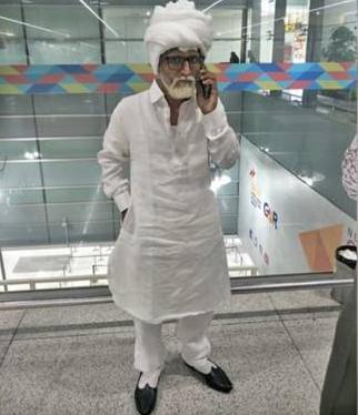 男子扮81岁老人,印度男子扮81岁老人,32岁男子扮81岁老人