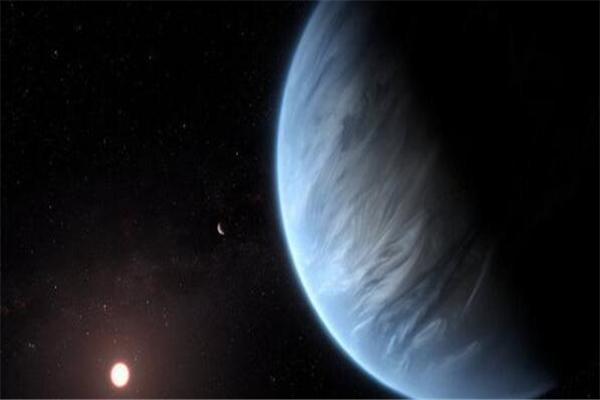 超级地球,系外行星大气层中发现水,系外行星发现水,超级地球大气层发现水