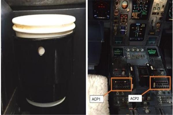 德国神鹰航空公司一飞行员将咖啡打翻 操作面板冒烟载337人客机迫降