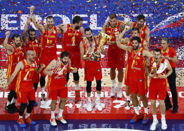 西班牙夺冠世界杯,2019篮球世界杯冠军,西班牙篮球世界杯冠军,篮球世界杯