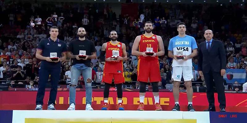 2019籃球世界杯最佳陣容公布 盧比奧加冕本屆世界杯MVP