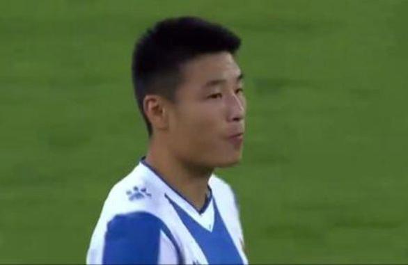 歐聯杯武磊首發打滿全場 兩次射門均被門將化解