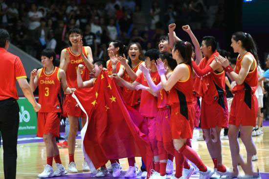 中国女篮对新西兰取开门红 女篮亚洲杯中国67:44轻取新西兰