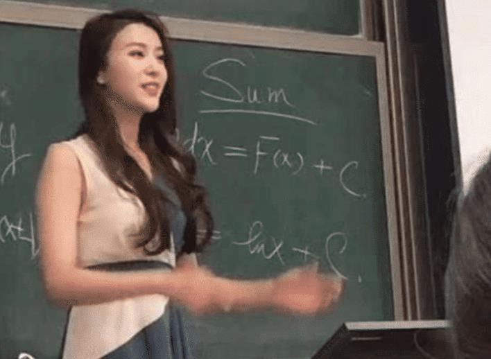北科大一美女老师因高颜值走红 学生们抢着上课