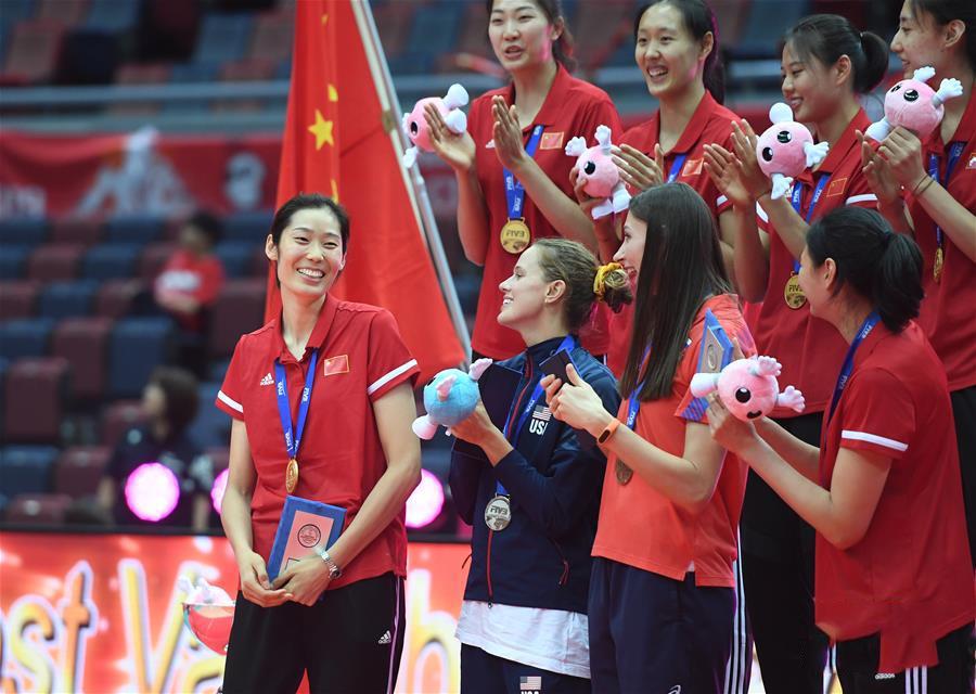 朱婷夺世界杯MVP,女排世界杯MVP,中国女排11连胜
