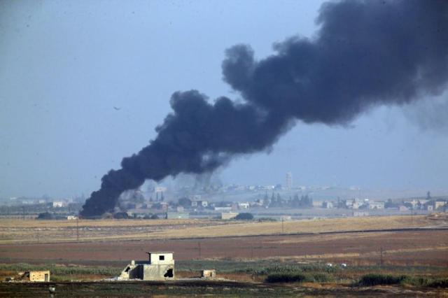 土耳其袭击叙利亚伤亡人数已致15死40伤 其中含8位平民死亡