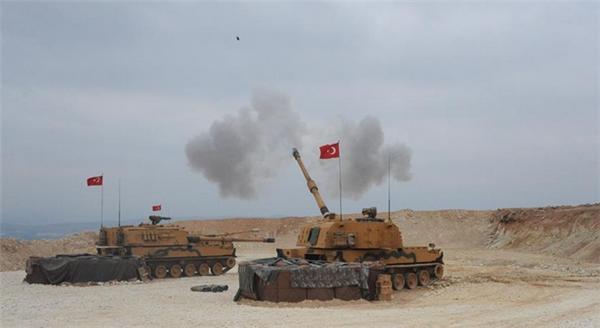 土耳其在叙利亚北部展开军事行动,伊朗在靠近土耳其的边境举行军演