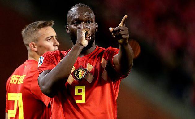 【欧洲杯预赛】比利时主场9比0大胜圣马力诺 7战全胜领跑打入决赛圈