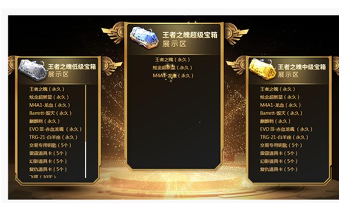 CF王者宝箱活动怎么开超级宝箱?多少钱才能出王者?