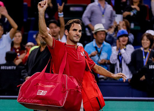 费德勒挽救五赛点仍未翻盘 无缘2019赛季男子网球上海大师赛4强