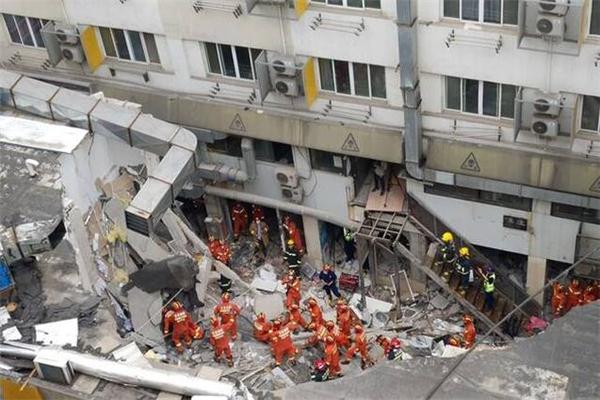 南京一公寓局部坍塌 搜救工作基本结束,1人遇难4人受伤