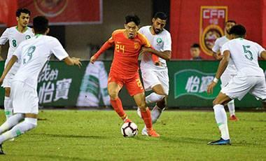 國奧男足0-0沙特暫列榜首 萬州四國賽保持不敗
