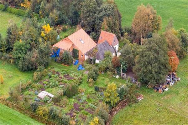 荷蘭一家躲末日住地窖9年 依靠菜地和羊自給自足