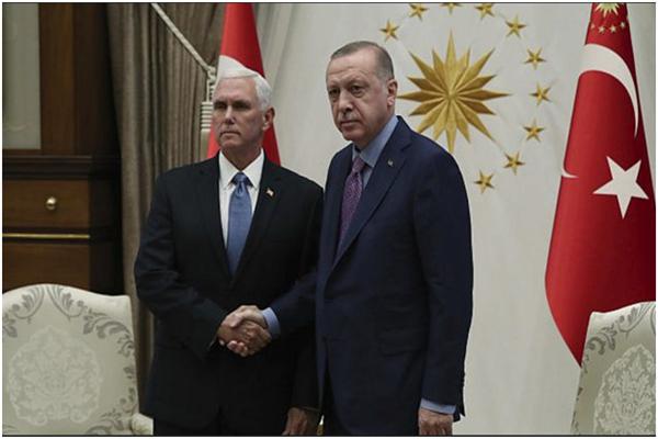 土耳其暂停在叙军事行动 土耳其外交大臣:我们获得了想要的结果