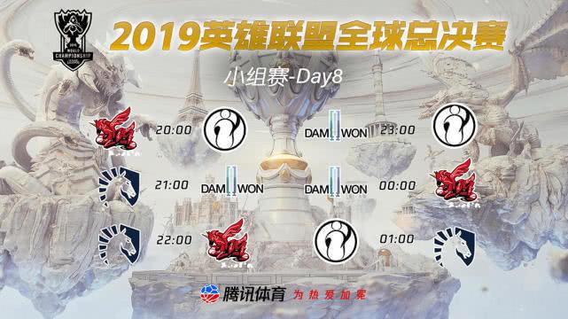 S9小组赛,S9小组赛10月19日战报,SKT小组第一出线