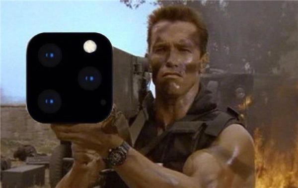 施瓦辛格用iPhone11火箭筒手机壳,施瓦辛格iPhone11火箭筒手机壳,施瓦辛格iPhone11手机壳