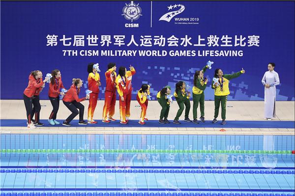 50分钟拿一块金牌 世界军运会中国健儿为国争光