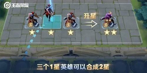 王者荣耀王者模拟战怎么快速升三星_王者模拟战最快合3星方法