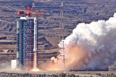 高分七号卫星发射成功_可绘制3D立体地图