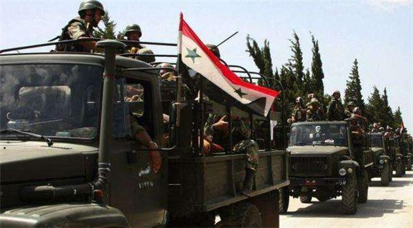 叙利亚政府军加强东北边境部署,2012年以来首次入驻油田区域