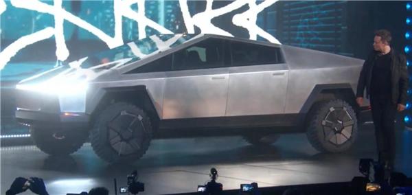特斯拉发布电皮卡,外形充满科技感如同火星战车