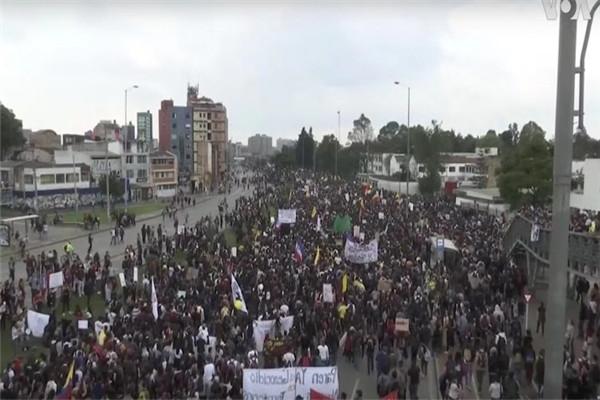 哥伦比亚爆发抗议是怎么回事 哥伦比亚爆发抗议原因曝光